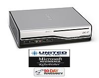 Б/У Системный блок ACER L460/L410 USSF  2 ядра / 4 Гб / 250 ГБ лицензия Windows 7 ГАРАНТИЯ