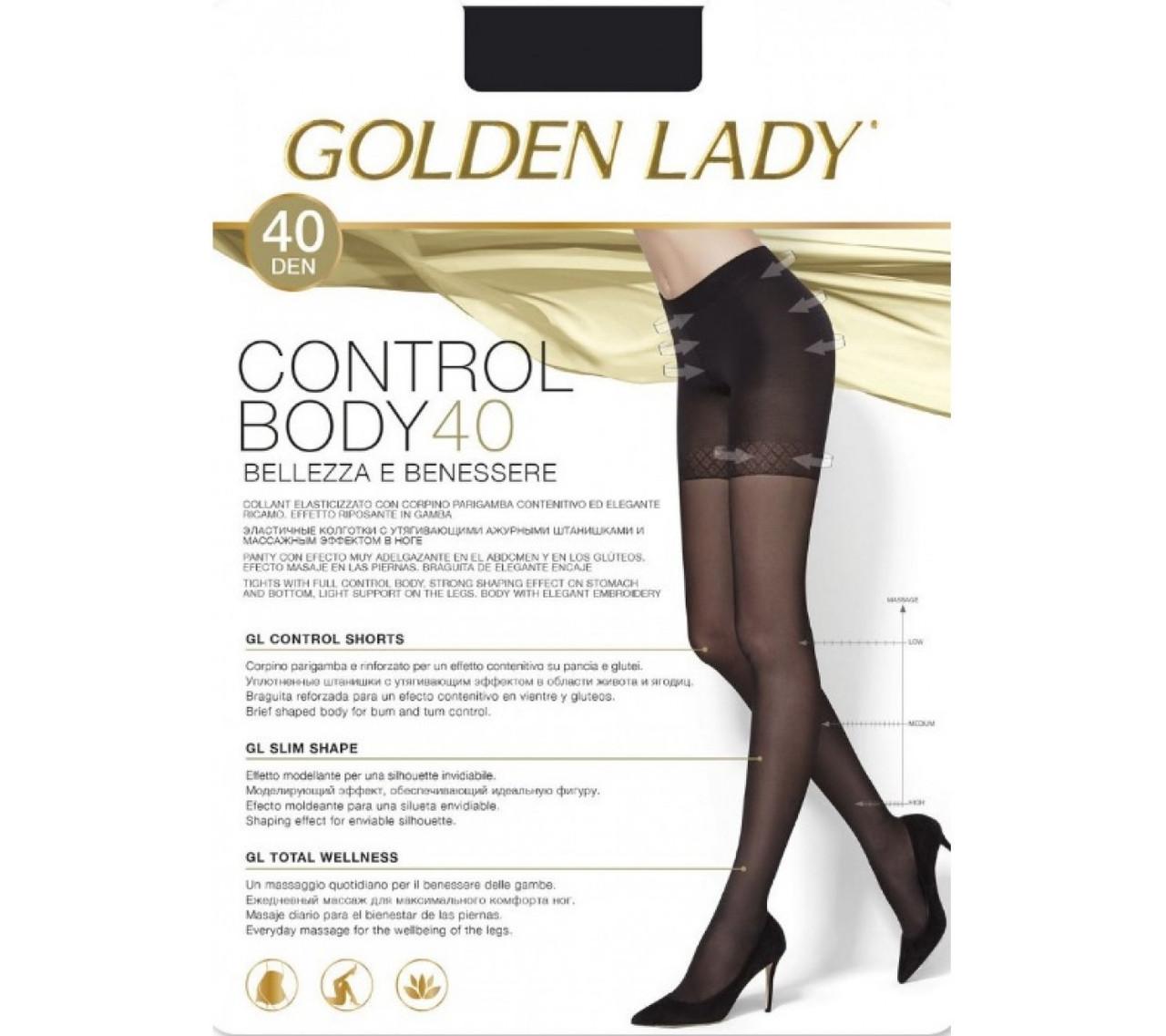 Колготки женские Golden Lady Control Body 40 den