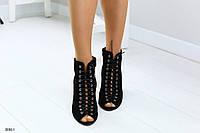 Женские босоножки на удобном каблуке