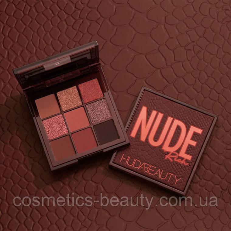 Тени для век Huda Beauty Rich Nude Obsession.