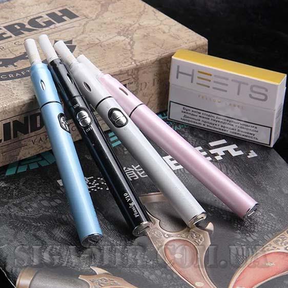 Комплект для нагревания табака Pluscig V10 Белый ( Совместимость с технологией iQOS stick)