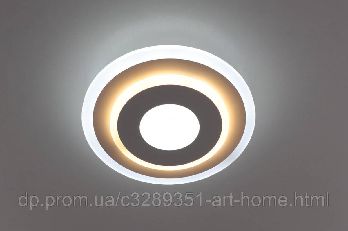Светильник потолочный Led (6х25х25 см.) Матовый белый YR-2245/250-wh