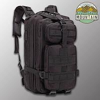 """🔥 Тактический рюкзак, военный """"Mountain - 25 pack"""" (черный) на 25 литров, армейский, EDC"""