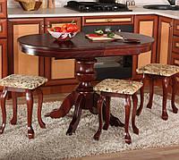Стол обеденный раскладной Рондо РКБ овальный, фото 1