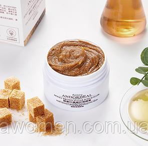 Маска скраб Andorheal Honey Brown Sugar Scrub с коричневого сахара и меда 65 g