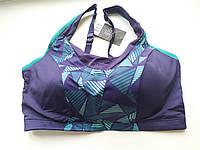 CRIVIT® женский спортивный бюстье,топ лиф высокий уровень 85-90 СД темно-синий, фото 1