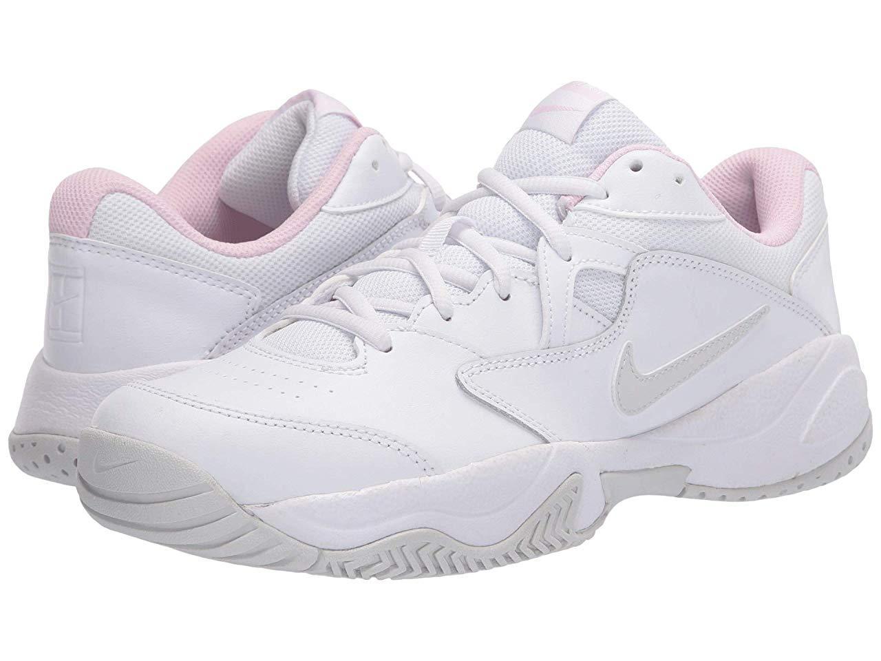 Кроссовки/Кеды Nike Court Lite 2 White/Photon Dust/Echo Pink