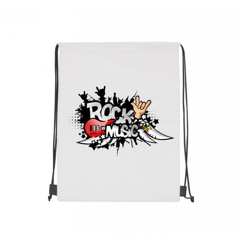 Рюкзак-мешок с надписью и картинкой