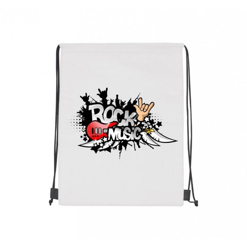 Рюкзак-мішок з написом і зображенням