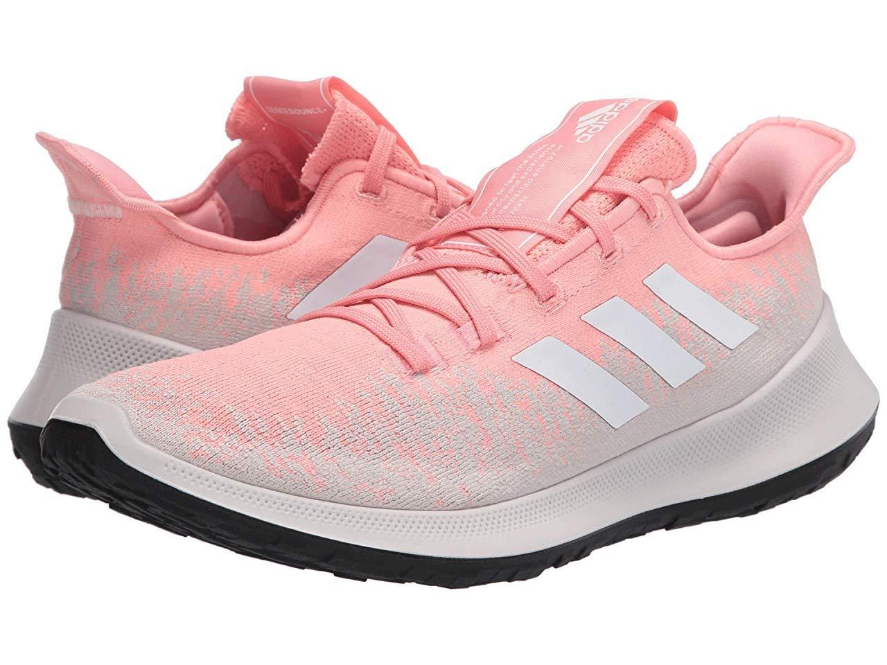 Кроссовки/Кеды adidas Running SenseBOUNCE + Glory Pink/Footwear White/Chalk Pearl