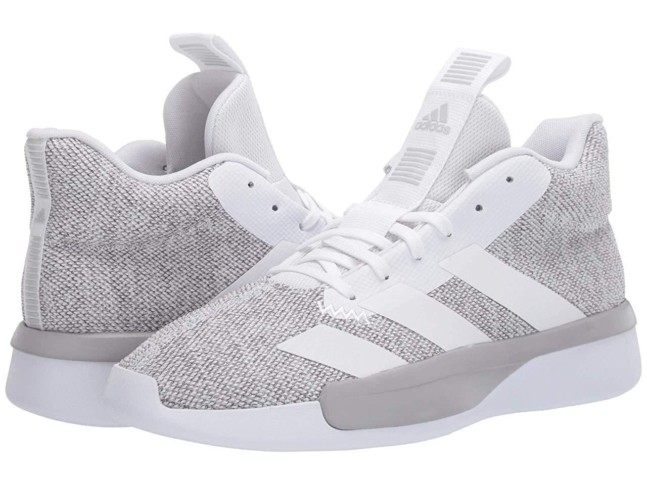 Кроссовки/Кеды adidas Pro Next 2019 Footwear White/Grey Two/Core Black