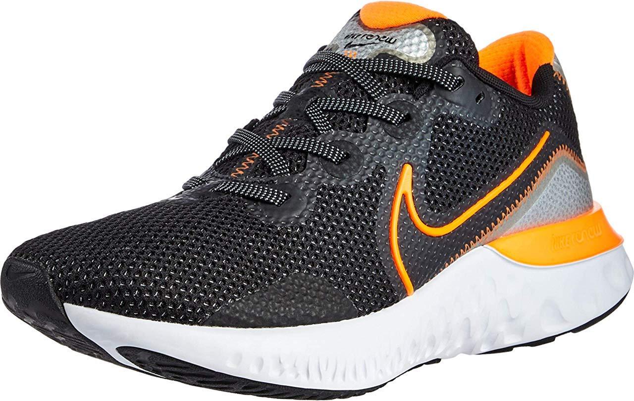 Кроссовки/Кеды Nike Renew Run Black/Total Orange/Particle Grey