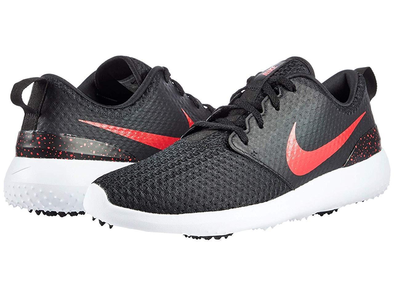 Кроссовки/Кеды Nike Golf Roshe G Black/University Red/White