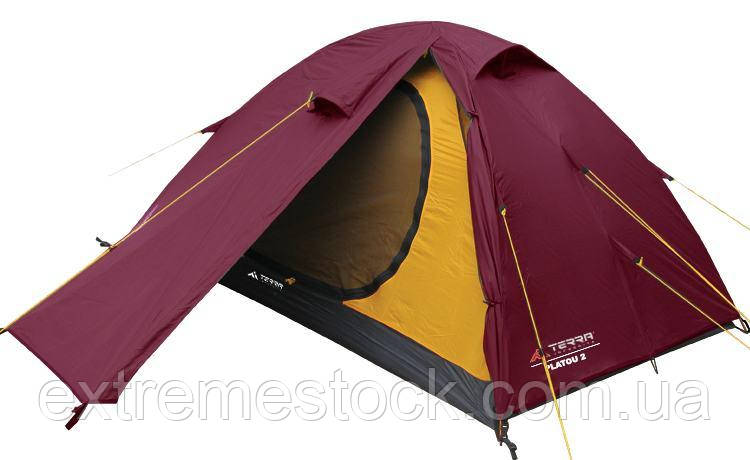 Палатка Terra Incognita Platou 2 Вишневый