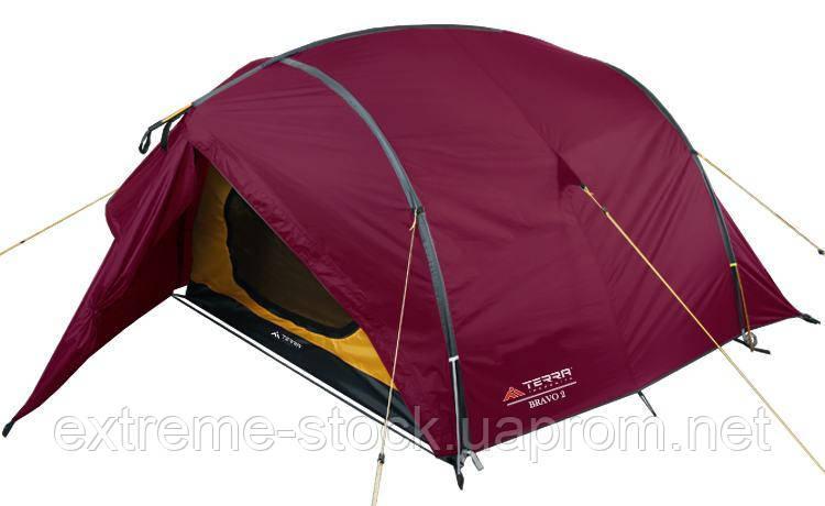 Палатка Terra Incognita Platou 3 Вишневый