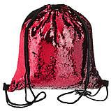 Рюкзак с красными паетками, фото 2