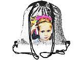 Рюкзак с красными паетками, фото 6