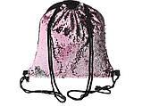 Рюкзак с красными паетками, фото 7