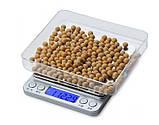 Весы ювелирные  6295-3 +чаша (0.1г - 3000г)⚖️, фото 3