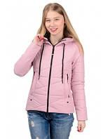 Молодежная женская куртка деми Гламур  Размеры 42- 52