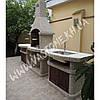 Камин барбекю «Сицилия» с дверцами, фото 3