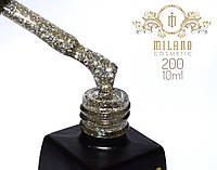 Гель лак MILANO  10ml № 200