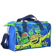 Спортивная детская сумка 1 Вересня 34х20х16 см 11 л для мальчиков Turtles (555565)