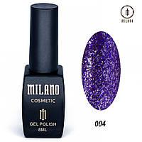 Гель лак Milano Shine collection -004