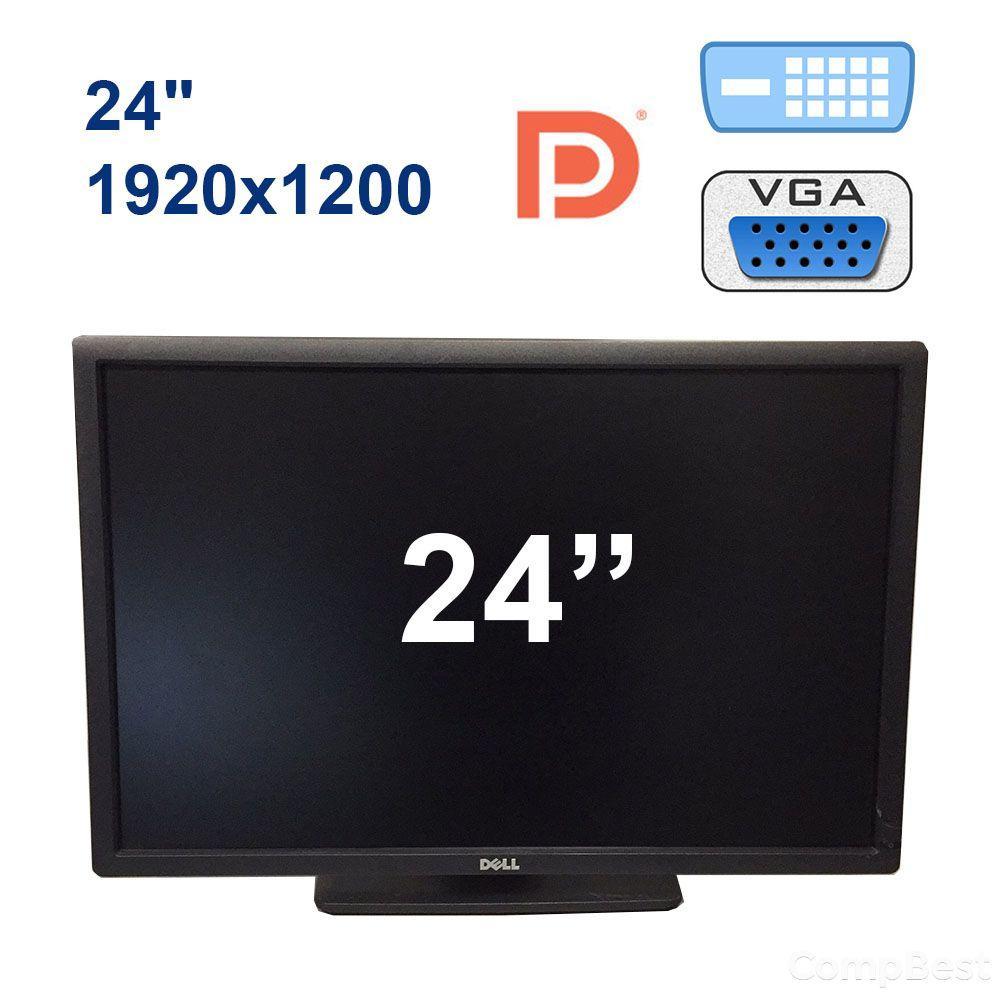 """Dell U2412M / 24"""" (1920x1200) IPS LED / DP, DVI, VGA, USB"""
