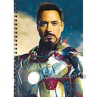 Блокнот - Тони Старк (Железный человек)