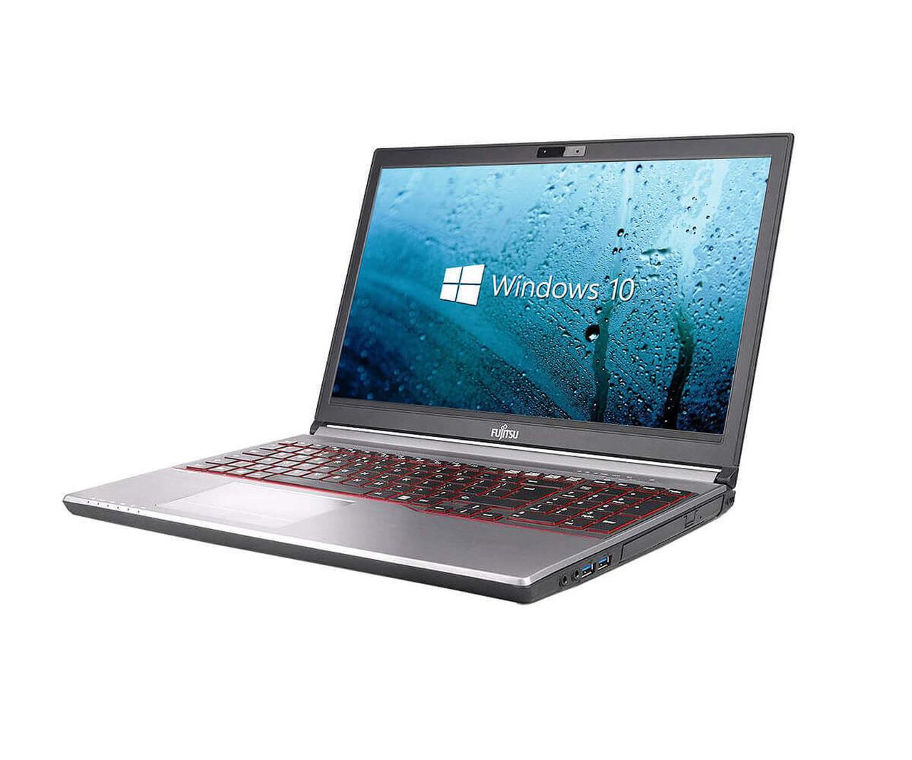 Ноутбук Fujitsu Lifebook E754 15.6 HD  intel Core i5 Gen4 RAM от  4GB DDR3 HDD или SSD 240GB Без Бат. Сост 9 из 10