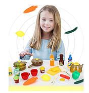 Кухня детская Люкс интерактивная с водой,30 мелодий,свет,вытяжка, цвет Вишня 95 см.Видео обзор., фото 7