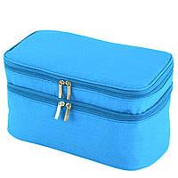 Женская голубая косметичка TRAUM 7014-38