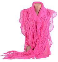 Малиновый женский шарф TRAUM 2483-66