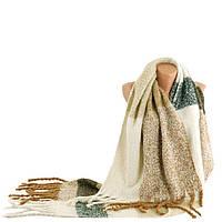 Кашемировый бежевый женский шарф TRAUM 2483-60