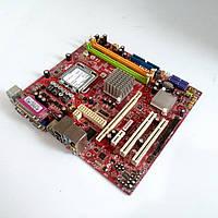 Материнская плата s775 Intel 945GC GM 2*DDR2 MSI 945GCM5-F V2 mATX бу