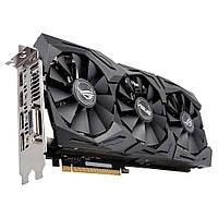 Видеокарта PCIe Nvidia GeForce GTX 1070 8GB Asus GeForce GTX 1070 ROG STRIX-GTX1070-8G-GAMING GDDR5 256bit DVI-D 2HDMI 2DP бу