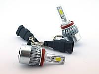 ✅ Редкие лампы, отличное качество ! автолампы LED C6, H11 5500LM, светодиодные, основного света | AG360066