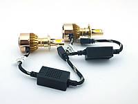 ✅ Чек не горит ! Автомобильные лэд лампы LED H7 6000k COB 36W 4300Lm | AG360071