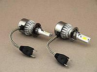 ✅ Лампы ОГОНЬ! Авто лампы CAR LED Headlight C6 H7 36W комплект светодиодных автоламп 6000K 3800LM | AG360074