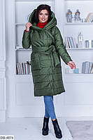 Куртка женская с капюшоном в разных цветах. Размеры 50-56, фото 1