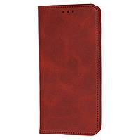 Чехол книжка для Samsung Galaxy M21 / M30s Black magnet красный