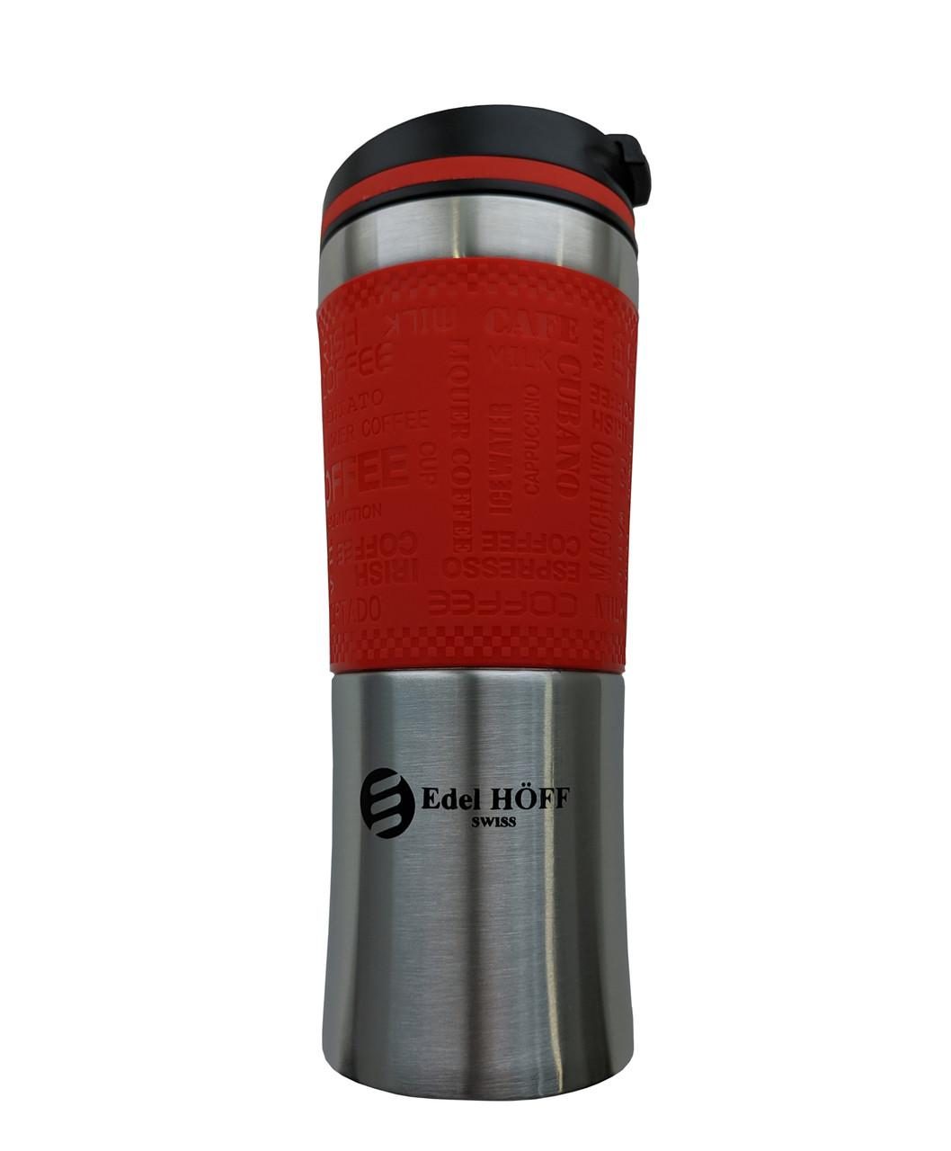 Термокружка EdelHoff EH-5317 (480 мл) - Красная