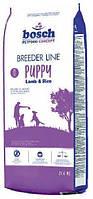 Корм для собак Bosch (Бош) Breeder Puppy ягненок с рисом 20 кг