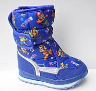 Подростковые дутики оптом Том м, 28-33 размер Детская зимняя обувь оптом
