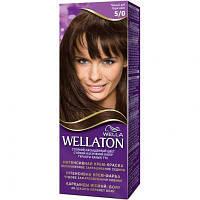 Крем-краска для волос Wellaton 5/0 Темный Дуб (4056800756704)