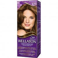 Крем-краска для волос Wellaton 6/73 Молочный шоколад (4056800621293)