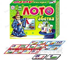 "Обучающая игра лото ""Азбука"""