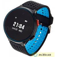 Часы Smartwatch умные часы Garett Sport 21 Czarno-niebieski