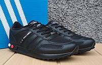 Кроссовки мужские в стиле Adidas Originals L.A.Trainer all black